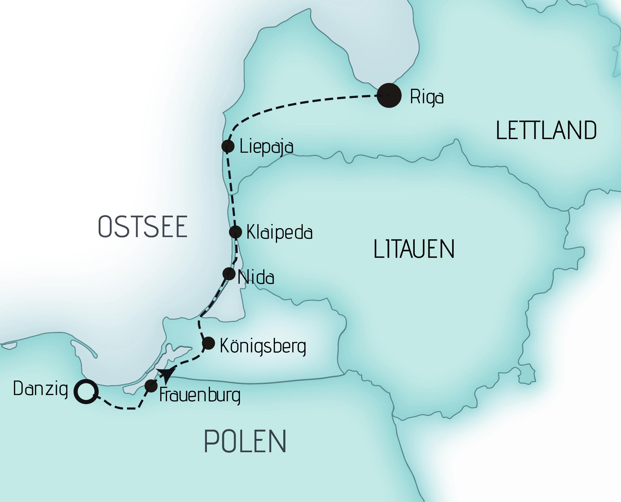 Karte GKMI